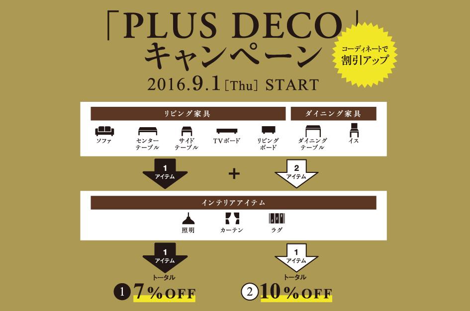 16.9.1-PLUS DECOキャンペーン